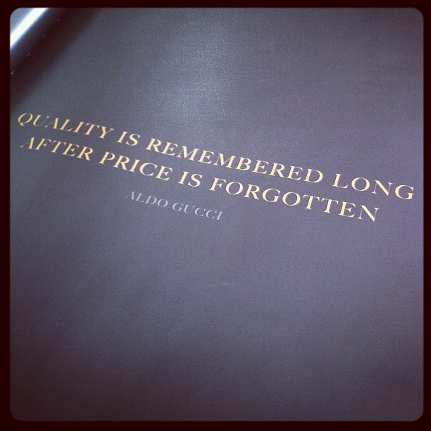 quality is actually loved long soon after charge can be misplaced dissertation format