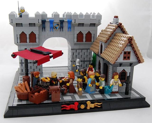 The Market (LCC Merchant's Guild Build J2)