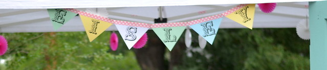 No-Sew Party Banner