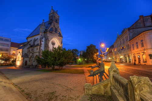 Blue Hour in Kosice
