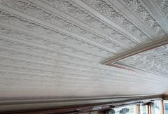 Ffestiniog observation car - ceiling detail