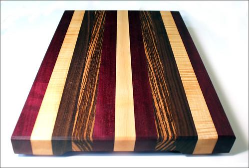 Big Stripey Board – Now with Zebrawood!