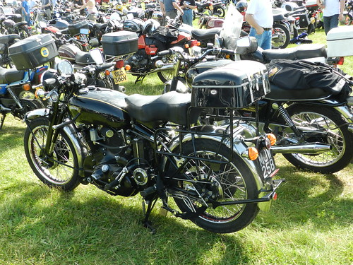 MJW258 Vincent Motorcycle
