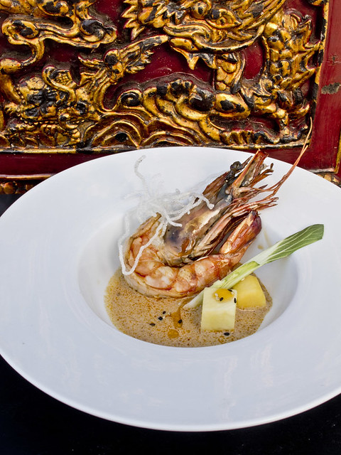 Dish of the day: Bambuddha Grove Tiger Prawns