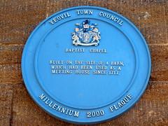 Photo of Yeovil Baptist Chapel blue plaque
