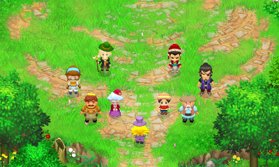 Harvest Moon: The Tale of Two Towns 3D Review