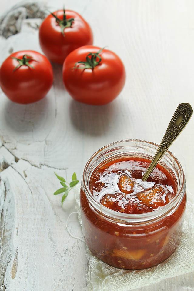 Tomato Peach Jam