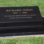 Richard Nixon grave - Richard Nixon Presidential Library and Museum