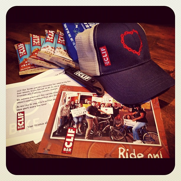 Got a CLIF Commuter Pack!