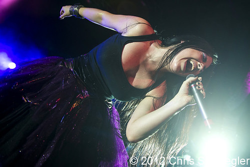 Evanescence - 08-24-12 - Carnival Of Madness Tour, DTE Energy Music Theatre, Clarkston, MI