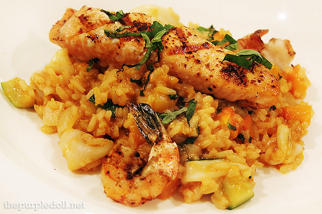 Seafood Risotto P695