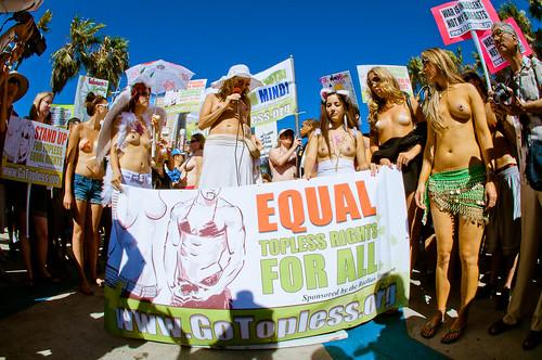 National Go Topless Day Venice Beach