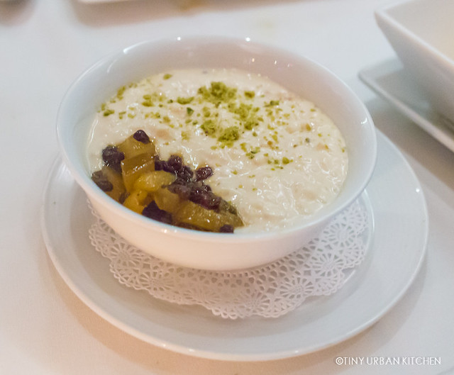 Rice Kheer - saffron and green cardamon