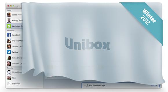 Unibox para OS X. Un nuevo cliente de email