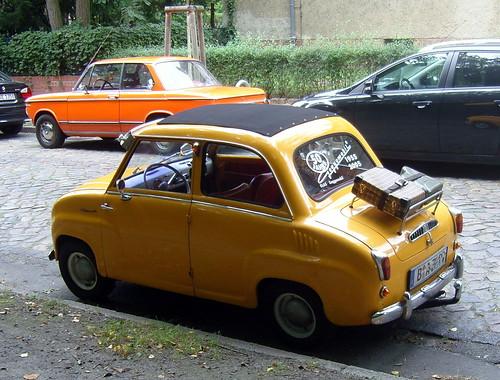 Goggomobil ... reisefertig :-)) by bayernernst