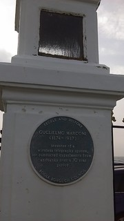 Kuva Guglielmo Marconi. openplaques:id=2373