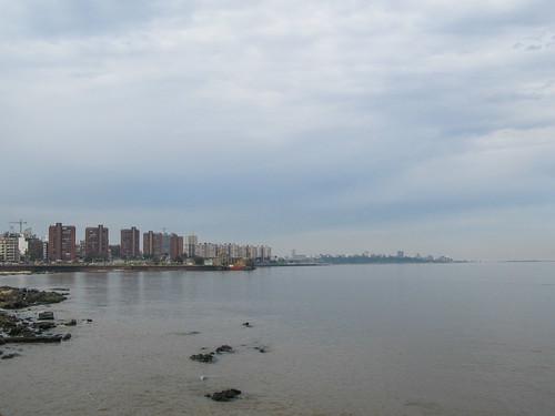 Montevideo: balade sur le remblais