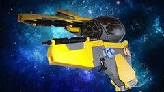 Custom Lego Anakin's Jedi Interceptor