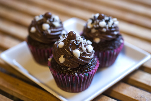 Rocky road mini-cupcakes