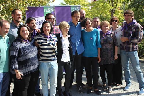 2016_Amurrio_Elkarrekin Podemos_Iñigo Errejon_Pili Zabala