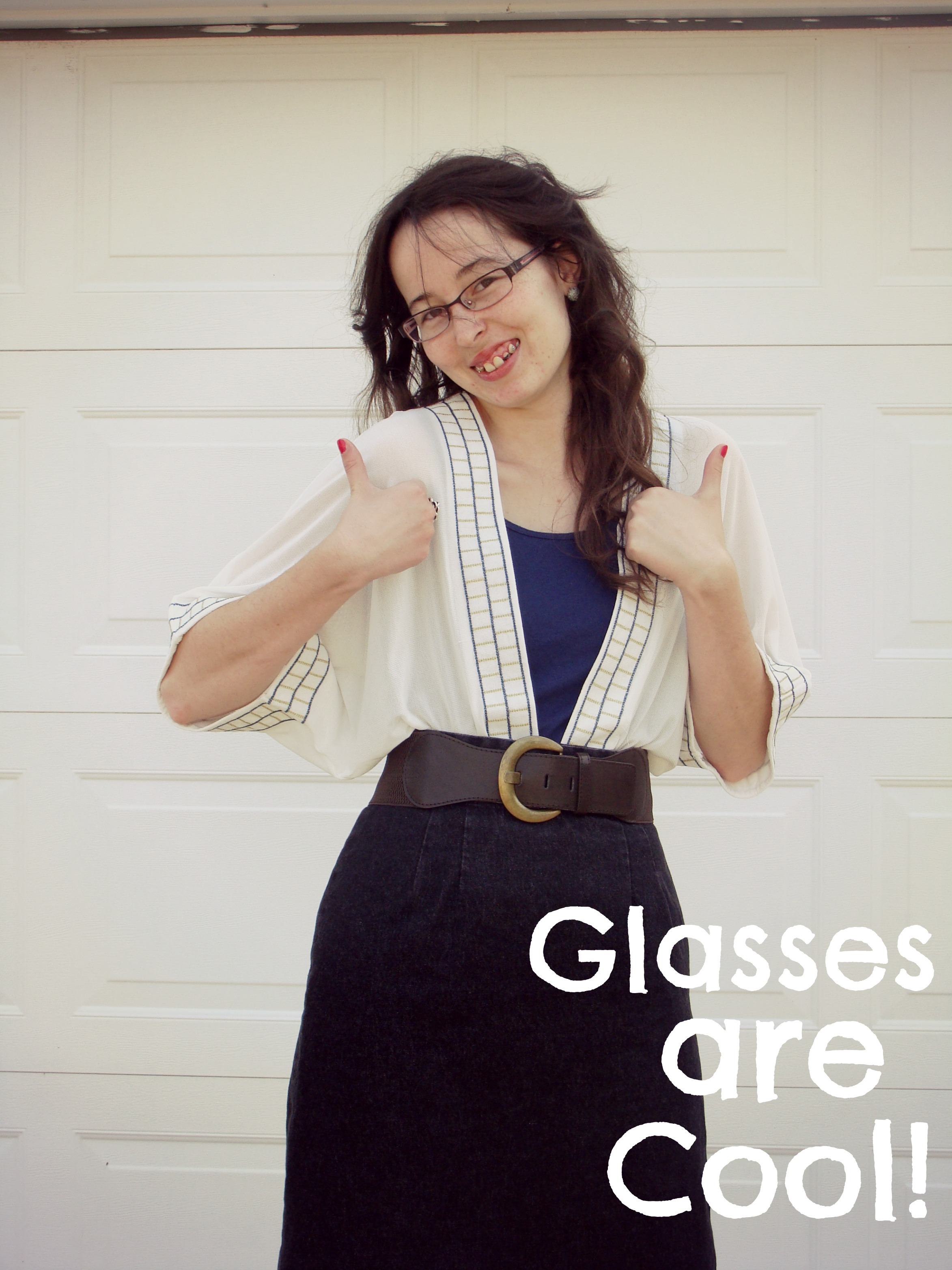 What I Wore - Glasses are Cool!