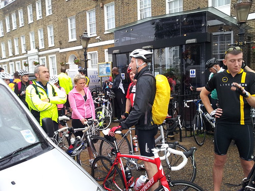 Setting off from Blackheath