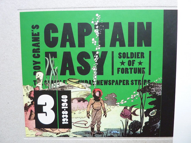 Captain Easy, Soldier of Fortune: The Complete Sunday Newspaper Strips Vol. 3 (1938-1940) by Roy Crane - cover detail