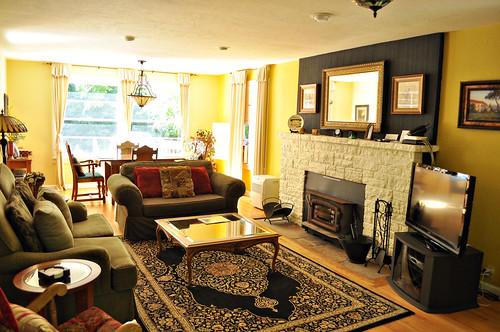 Living Room at Kenwood Cottage