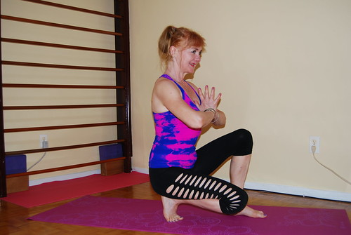 picture of stretching pose
