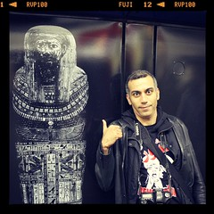 Hossam in London