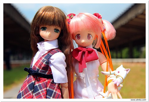 Pair Shoot with Madoka