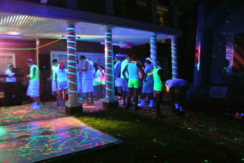 Travel Family How To Throw A Blacklight Party