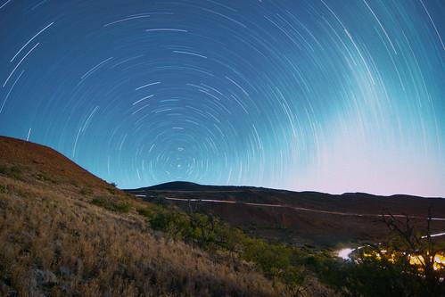 Mauna Kea Star Trail