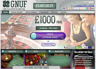 Gnufr Casino Home