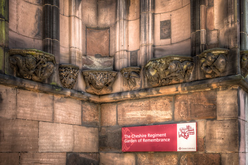 The Cathedral Political Corbels 2012 by Mark Carline