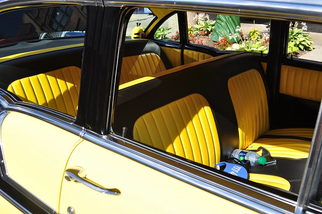 yellow black interior rolling sculpture car show flickr photo sharing. Black Bedroom Furniture Sets. Home Design Ideas
