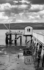 The new pier, Salen