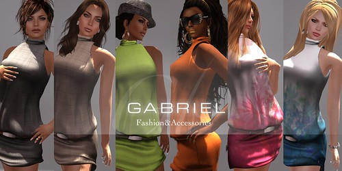 NEW ! Sleeveless dresses of Gabriel by mimi.juneau *Mimi's Choice*