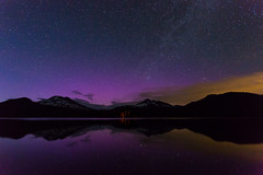 Aurora at Sparks Lake, Oregon - July 15 2012