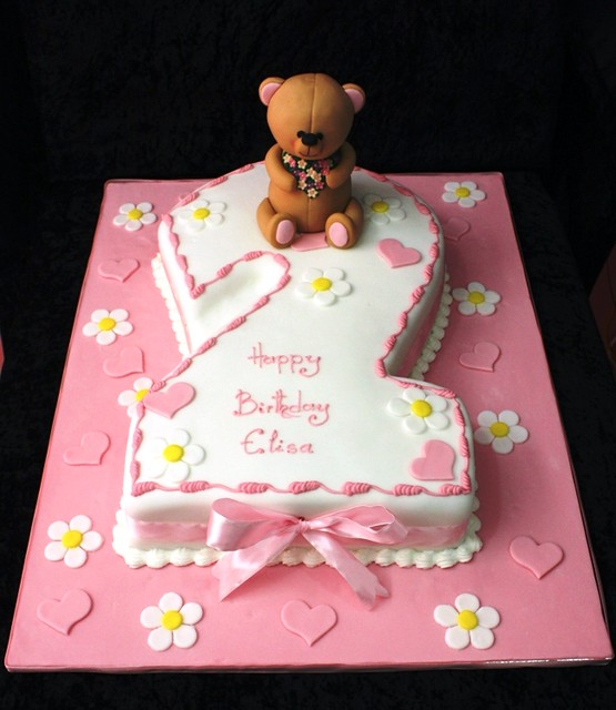 2nd Year Birthday Cake Designs For Baby Girl : 2nd birthday cake Explore The House of Cakes Dubai s ...