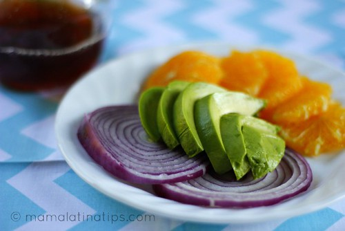 Avocado Salad Ingredients 2