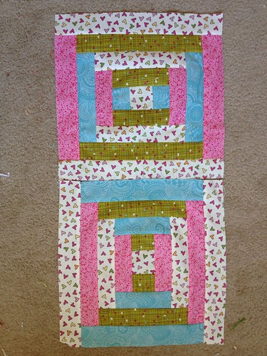 James Baby Quilt Blocks Trial 2