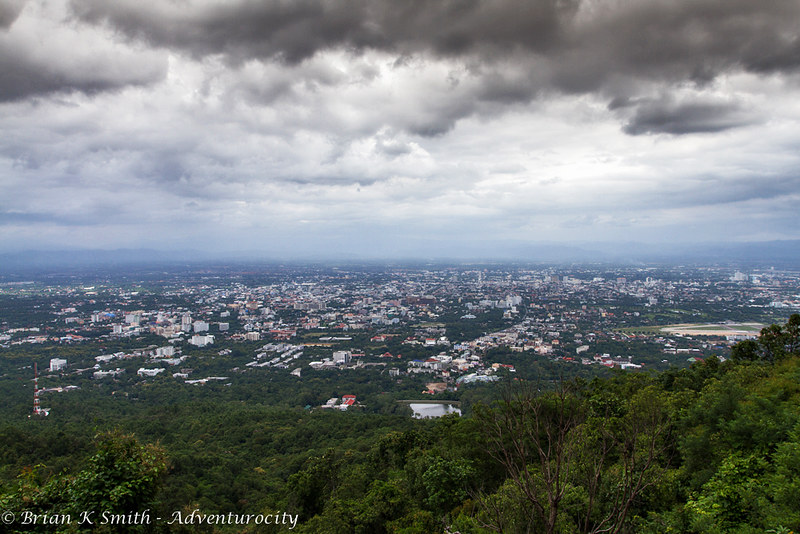 Chiang Mai skyline from Wat Phrathat Doi Suthep