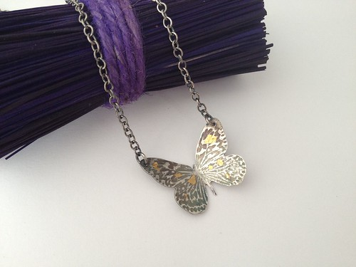 sterling silver butterfly by Eve smith,silvermeadows.