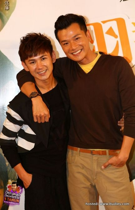 L-R Coby Chong and William San