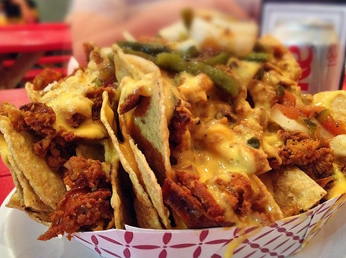 Chorizo Nachos at Mexicali Taco & Co.