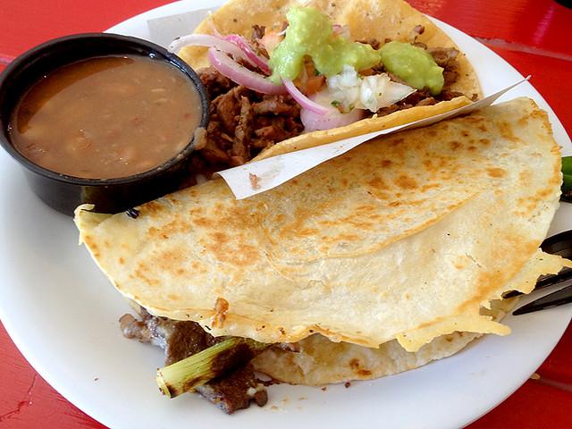 Carne Asada Taco & Vampiro at Mexicali Taco & Co.