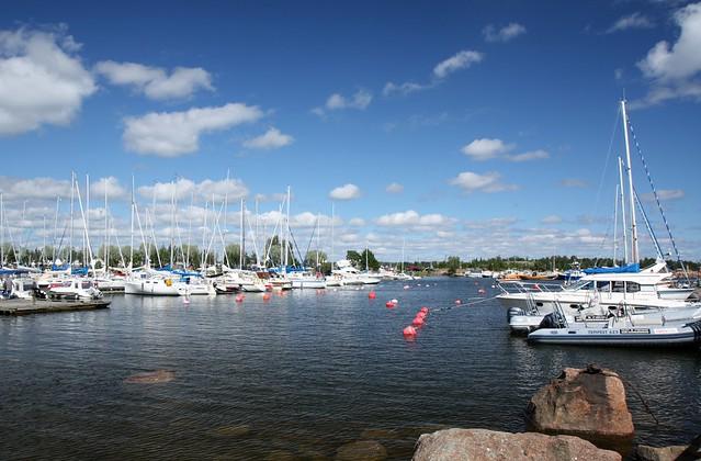Barcos en Finlandia