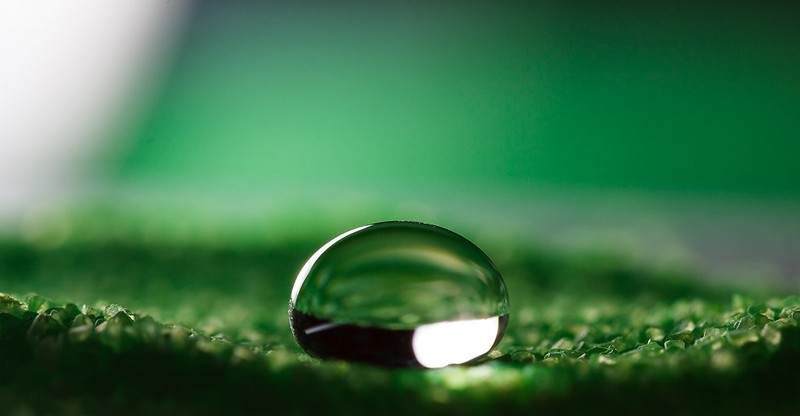 Water Drop on Hydrophobic Sand (Explore: 1213 - Jul 26, 2012 #146)