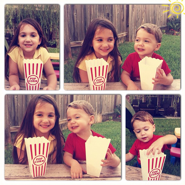 They fill my #heart!! #photoadayjuly #popcorn